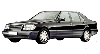 Кузовной ремонт Мерседес W140 | Покраска Мерседес W140 ...